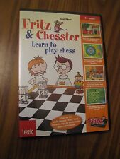 Fritz & Chesster  Learn to Play Chess  PC Game CD Rom - A718