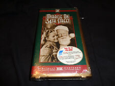 Miracle on 34th Street  VHS  50th Anniversary New and Sealed