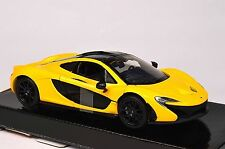 MCLAREN P1 YELLOW MOTORMAX 79325 1:24 NEW DIECAST MODEL