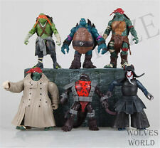 2014 New Teenage Mutant Ninja Turtles Movie Action Figures TMNT 6pcs Toys