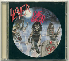 SLAYER Live Undead; 1993 CD Metal Blade Records