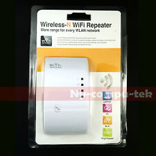 New! Wireless-N Wifi Repeater 802.11N Network Router Range Expander 300M US Plug