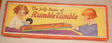 SPEARS GAMES, THE JOLLY GAME OF RUMBLE TUMBLE - 1920's
