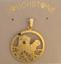 Dogue de Bordeaux  Jewelry Gold Pendant by Touchstone