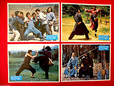 DEADLY SHAOLIN 1978 ZA MA CHARLES HEUNG MARTIAL ARTS KUNG FU EXYU LOBBY CARDS