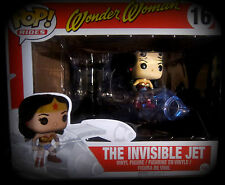 Wonder Woman and the Invisible Jet - Vinyl Figuren Set - Funko Pop! Rides