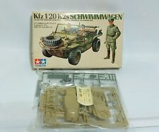 Vintage Tamiya 1970 SS GERMAN Jeep SCHWIMMWAGEN 1/35 Mini Model Kit NIB Sealed