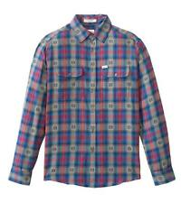 MATIX Mayhill Flannel Shirt (L) Blue