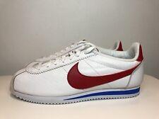 Nike Classic Cortez Premium Shoes Forest Gump UK 8.5 EUR 43 White 807480 164