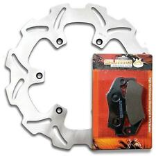 KTM Front High Quality Stainless Steel Brake Rotor + Pads (Check Compatibility)