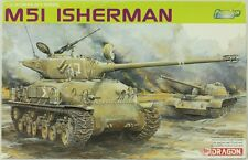 Dragon 1:35 M51 Israeli I Sherman Tank - Plastic Model Kit #3539U