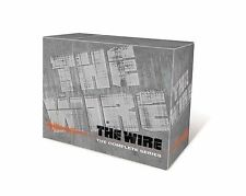 The Wire The Complete Series NEW Season 1-5 2 3 4 5 23 DVD box Set 60 Eps HBO