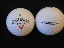 "20  CALLAWAY ""BIG BERTHA DIABLO"" RED TICK - GOLF Balls  - ""PEARL/A"" Grades."