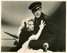 """""""AMES A LA MER (SOULS AT SEA)"""" Photo orig PARAMOUNT 1937 Gary COOPER,Frances DEE"""
