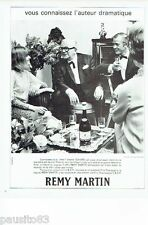 PUBLICITE ADVERTISING 116  1966  Remy Martin  cognac &  Marcel Achard