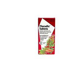 ! nuevo! Floradix Suplemento de Hierro comprimidos 84 comprimidos