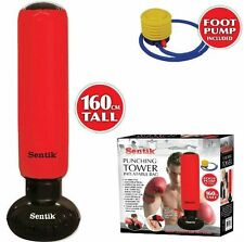 INFLATABLE PUNCHING TOWER FREE STANDING PUNCH BAG BOXING WATER BASE