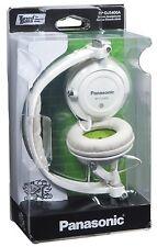 Panasonic RP-DJS400AEW Stylish Street Headphones with Swivel Mechanism - White