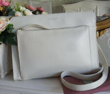 """Immaculate"" Radley Clerkenwell Ivory Leather Top Zip Shoulder Crossbody Bag"