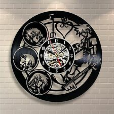 Wall clock made of vinyl record_Kingdom Hearts Anime LIMITED OFFER 191