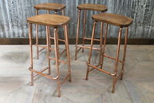 COPPER BASED STOOLS HIGH
