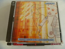 FRANCE SONGS CHILL JAZZ NOSTALGIA 2 CD LAURENT DURY CARLIN LIBRARY SOUNDS MUSIC