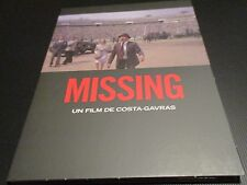"DVD DIGIPACK NF ""MISSING PORTE DISPARU"" Jack LEMMON, Sissi SPACEK / COSTA-GAVRAS"