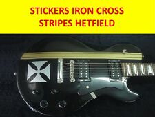 STICKERS HETFIELD IRON CROSS SILVER + STRIPES GOLD VISIT OUR STORE NEW STICKERS