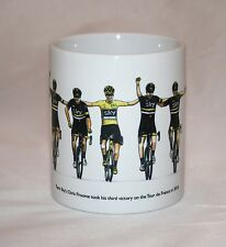Cycling Mug. Chris Froome Team Sky, Tour de France winner 2016