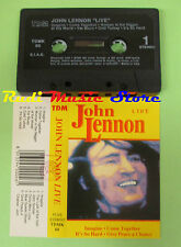 MC JOHN LENNON Live Beatles 1992 italy TDM TDMK 60 no cd lp dvd vhs