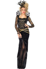 Kostüm Deluxe Dive Queen of Darkness Kleid Samt Lang Dunkle Königin Maleficent