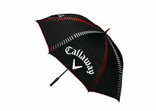 """Callaway Tour Authentic 68"""" Double Canopy Golf Umbrella 2017 Black/Red/White New"""