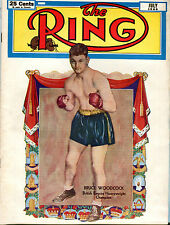 The Ring Magazine Boxing July 1950 Bruce Woodcock Heavyweight EX 122915jhe2