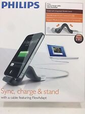 Philips - DLC2407/17 - FlexAdapt Flexible Charging Stand for iPod/iPhone