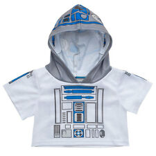 Build a Bear Clothing - Star Wars R2-D2 Hoodie- NEW