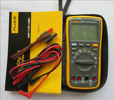 NEW True FLUKE 17B+ F17B+ Digital Multimeter LED backlight