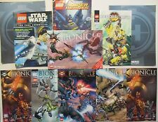 (11) LEGO Bionicle and SuperHero Comics Magazine Lot 2008-2011