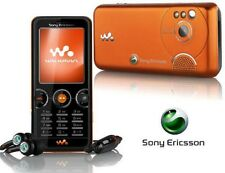 Sony ERICSSON w610i Walkman Orange (Senza SIM-lock) fascia tricolore 2mp mp3 radio OVP