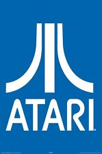 ATARI ~ LOGO 24x36 Video Game POSTER Arcade NEW/ROLLED!