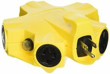 Yellow Jacket 27362 Outdoor 5-Outlet 15-Amp Power Strip Adapter