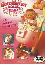X0003 Sbrodolina dolce nido GIG - Pubblicità 1992 - Vintage Advertising