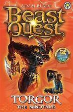 """Torgor the Minotaur (Beast Quest), Adam Blade, """"AS NEW"""" Book"""