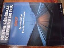 µ? Revue RGCF n°181 Mars 2009 Special SNCF Eco-Mobilité Developpement durable