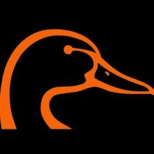 Duck Head Sticker Browning Hunting Vinyl Decal Hunter Orange 5""