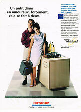 PUBLICITE ADVERTISING 114  1998  BUTAGAZ   le cube WHIRLPOOL