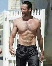 Hugh Jackman Shirtless Hot 8x10 Photo Matte Paper Finish Lab Printed #2