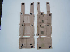 Lot of 6 Molle II ALICE  Adapters Tan New
