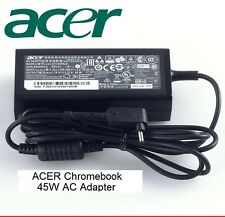 Original OEM Acer Aspire One Cloudbook 11 14 AO1-431 45W AC Adapter A13-045N2A