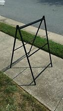 "METAL A FRAME SIDEWALK SIGN - HOLDS 24""x36"" INSERTS - LOW COST ALT TO SIGNICADE"