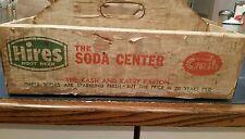 HIRES ROOT BEER ROYAL CROWN RC COLA DIET RITE ORANGE CRUSH SODA KASH KARRY  BOX
